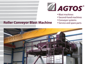 Roller Coveyor Blast Machine