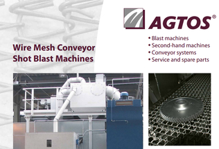 Wire Mesh Conveyor Shot Blast Mashines