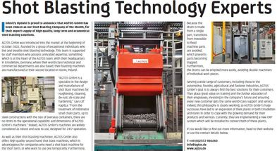 Shot Blasting Technology Experts