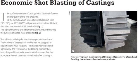 Economic Shot Blasting of Castings