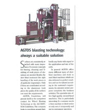 AGTOS blasting technology - always a suitable solution