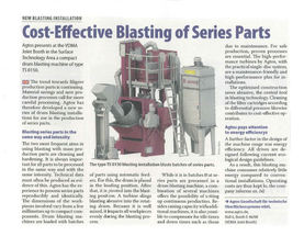 Cost-Effective Blasting of Series Parts